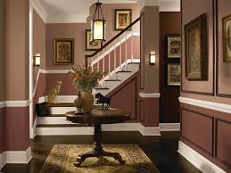 Two Tone Walls With Chair Rail by Endearing Dining Room Color Ideas With Chair Rail With Dining Room