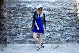 WanderLust Girls Urban Outfitters Cobalt Dress
