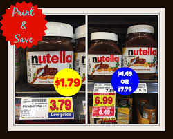 Nutella Coupons Printable 2018 / Geyser Falls Discount ...