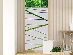grazdesign fensterfolie bad glastür aufkleber oder duschkabinen tür fenstertattoo sichtschutz streifen linien 70x110cm breite x höhe