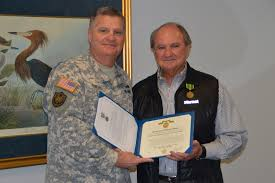 Military Awards And Decorations Records by La Guard Awards Senator With Distinguished Civilian Service Medal