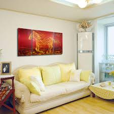 Tooarts The Light Of The Life Modern Painting Wall Art Home