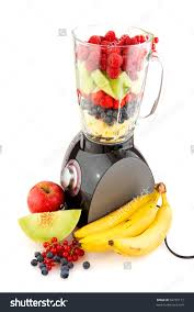 Blender With Fruit Clipart