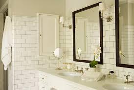 bathroom white subway tile houzz