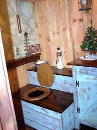 rustic outhouse bathroom decor office and bedroom