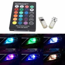 4pcs t10 1 5w white car motorcycle park led light bulbs prices