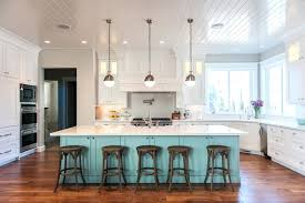 Breathtaking Teal Kitchen Island Astounding Rustic On Wheels Light Blue