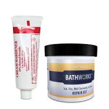 shop bathworks white tub and tile repair at lowes