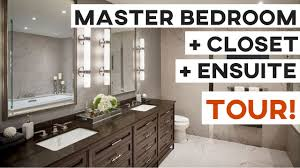 master bedroom closet ensuite tour