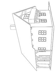 coloriage maison à imprimer gratuitement
