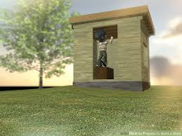 How To Build A Shed House by How To Prepare To Build A Shed 12 Steps With Pictures Wikihow