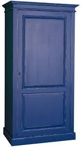 casa padrino landhausstil kleiderschrank antik blau 149 x 67 x h 210 cm massivholz schlafzimmerschrank mit tür landhausstil schlafzimmermöbel