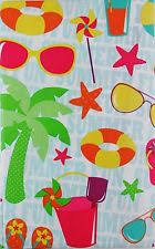 Round Patio Tablecloth With Umbrella Hole by Elrene Vinyl Round Tablecloths Ebay