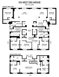 100 Million Dollar House Floor Plans 8 Million Dollar Floor Plan 89thWest End Apartment Floor