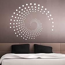 grandora wandtattoo ornament kreise punkte i gold bxh 72 x 60 cm i wohnzimmer schlafzimmer flur wandaufkleber wandsticker aufkleber sticker w941