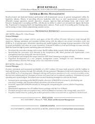 Resume Objective Hospitality Info Hotel Engineer Amazing In Sample Awesome