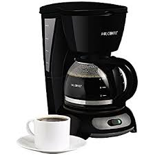 Mr Coffee 4 Cup Switch Maker Black