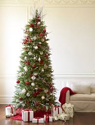 Buy Red Spruce Slim Artificial Christmas Trees Online