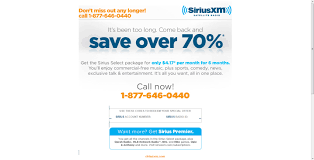 Sirius Xm Halloween Station Number by Xm Sirius 6 Months For 24 Taxes Buck For Past Customers Maybe