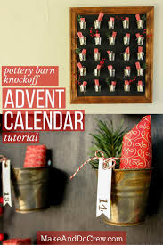 Pottery Barn Knockoff DIY Advent Calendar Tutorial Found This Advent Calendar In Pottery Barn Kids Catalog Too Skinny Santa Pottery Barn Gilt Advent Knock Off Holiday Calendars 2015 Immrfabulouscom 21 Best Is The Images On Pinterest The Feminist Housewife Inspired Calender 25 Unique Fabric Calendar Ideas Baby Fniture Bedding Gifts Registry Reindeer Christmas Quilted Thanksgiving Lynn Spin Stocking Ladder Rogue Engineer