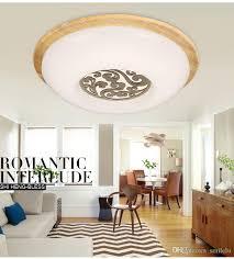 großhandel eiche moderne led deckenleuchten für schlafzimmer küche balkon laras de techo holz led deckenleuchte leuchten abajur smilelu 69 35