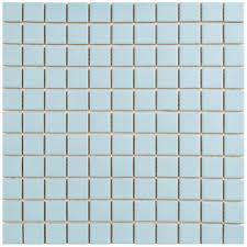 merola tile metro square matte light blue 11 3 4 in x 11 3 4 in
