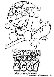 Doraemon The Wizard 0282 Coloring Pages Print Download