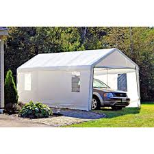 Garage Cheap Carport Ideas Portable Garage Costco