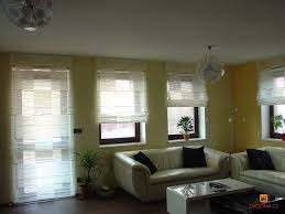 gardinen wohnzimmer viele fenster curtains living room