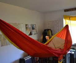 Indoor Hammock Bed by Hang Your Hammock Indoors 6 Steps With Pictures