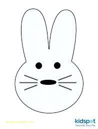 Easter Rabbit Template Printable Reflexapp