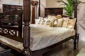 British West Indies A Colonial Rosewood Four Poster Bed Notice The Beautifully Carved Details