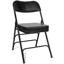 XL Series 2-Inch Vinyl Padded Folding Chair, 2