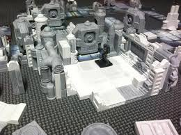 hirst arts modular dungeon sci fi had made a custom mold for the