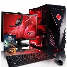 pack ordinateur de bureau vibox zeta pack 8 pc gamer amd 4 r7 360 gaming