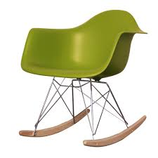 100 Eames Style Rocking Chair Buy Retro Green Trends Including Plastic