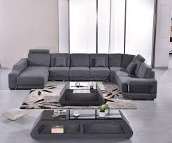 100 Sofa Modern Fabric Set Armchair Sectional U Shape Living Room