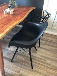 eames chair style dining chair esszimmer stuhl schwarz
