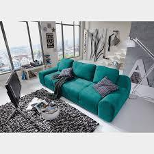 loftscape big sofa macacona petrol microfaser