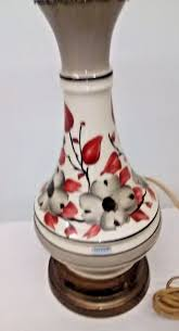 Frederick Cooper Table Lamps Brass by Vtg Tyndale Hand Painted Table Lamp Chicago Frederick Cooper