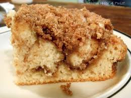Southern With A Twist Cinnamon Streusel Coffee Cake