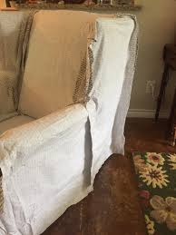 Wingback Chair Slipcover Tutorial | Create Your Own DIY Slipcover To ... Duval Wing Back Chair Beige Thrift Store Wingback Chair Linen Offeverydayclub Traditional Slipcover In Washed Linenlocal Clients Onlywing Ruffled Slipcoverwashed Linen Slipcoveryour How To Make Arm Slipcovers For Less Than 30 Howtos Diy Wingback Paris Tips Design Elegant Johnbaptistonline Summer Ottoman Upholstery Finn Slipcovered Swivel Armchair Sausalito Fniture Comfortable For Inspiring Tan Wingbacks By Shelley