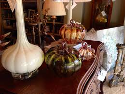 Glass Hand Blown Pumpkins by Vintage Mulberry Fall In Love With Art