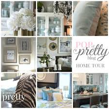 Home Decoration Blog Tour A Pop Of Pretty Decor Sweet Looking 1 On