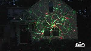 Ge Itwinkle Light Christmas Tree by Laser Lights Youtube