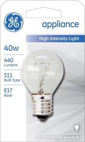 Lava Lamp Bulb Walmart by Ge Lighting 35156 40 Watt High Intensity Light S11 1cd Light Bulb