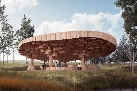 100 Mt Architects Rain Of Light Tippet Rise Gathering Pavilion By Kr