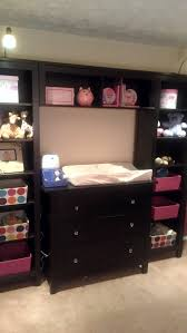 Hemnes 3 Drawer Dresser Blue by Our Take On The Pb Kids Madison Changing Table System Using 2