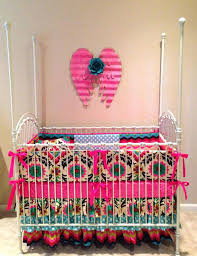 Pink Crib Bedding by Colorful Baby Bedding Sets Teal And Pink Crib Bedding Beautiful