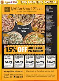 100 Golden Crust Pizza Blacktown Negotiator Magazine